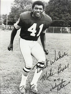 Mike Bass 1971 Redskins Team Issue Photo