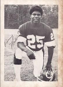 Benny Malone 1979 Redskins Team Issue Photo