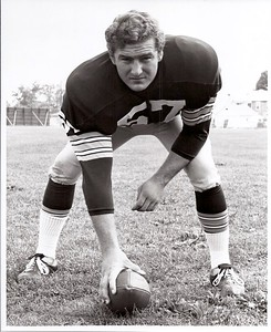 1971 Redskins Team Issue Photo Dave Crossan