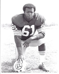 1971 Redskins Team Issue Photo Don Bandy