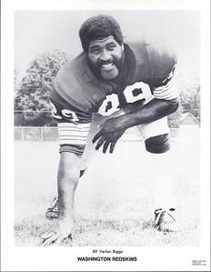 Verlon Biggs 1972 Redskins Team Issue Picture Pack Photo