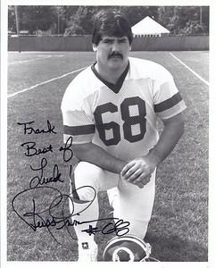 Russ Grimm 1987 Redskins Team Issue Photo