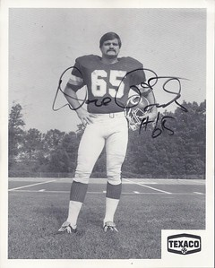 1980 Texaco Promo Dave Butz Photo