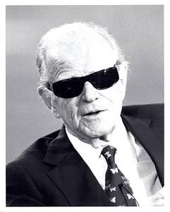 1989 Press Photo Redskins owner Jack Kent Cooke