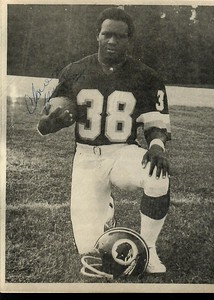 Clarence Harmon 1980s Redskins Team Issue