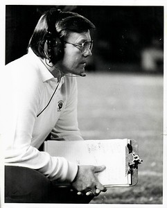 Joe Gibbs 1981 Redskins Team Issue Photo