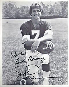 1983 Redskins Team Issue Joe Theismann