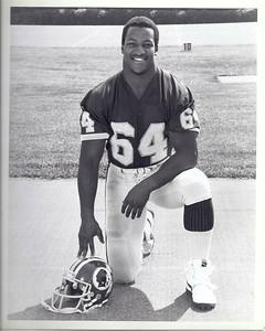 Steve Hamilton 1987 Redskins Team Issue