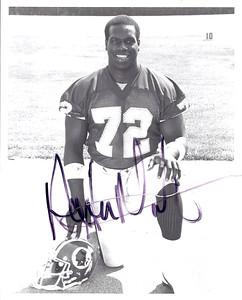 Dexter Manley 1987 Redskins Team Issue Photo