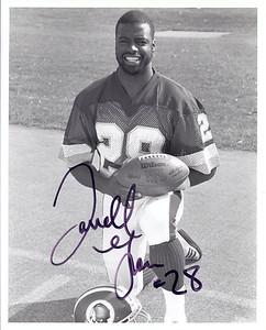 Darrell Green 1987 Redskins Team Issue Photo