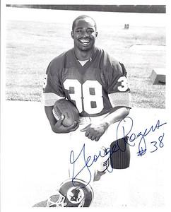 George Rogers 1987 Redskins Team Issue Photo