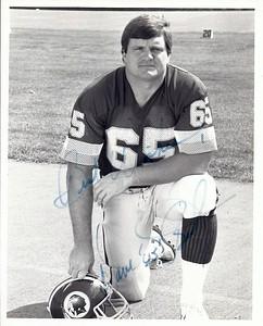 Dave Butz 1987 Redskins Team Issue Photo