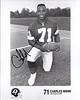 1980s Redskins Team issue Photo Charles Mann