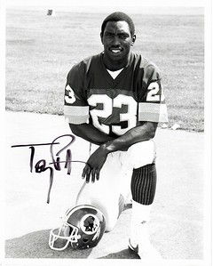 Tony Peters 1980s Redskins Team Issue Photo