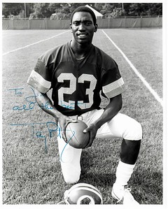 Tony Peters 1980 Redskins Team Issue Photo