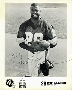 Darrell Green 1980s Fellowship of Christian Athletes Redskins Photo