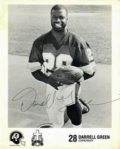 Darrell Green 1980s Fellowship of Christian Athletes Redskins Photo