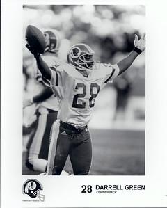 Darrell Green 1990s Redskins Team Issue
