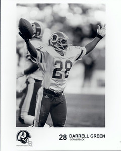 Darrell Green 1990s Redskins Team Issue
