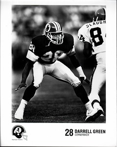Darrell Green 1991 Redskins Team Issue Photo