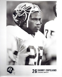 Danny Copeland 1990s Redskins Team Issue