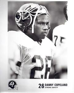 Danny Copeland 1990s Redskins Team Issue
