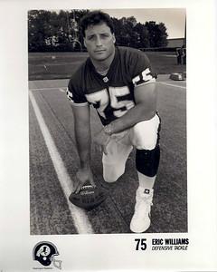Eric Williams 1990s Redskins Team Issue