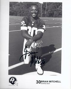Brian Mitchell 1990s Redskins Team Issue