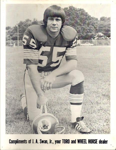 Chris Hanburger 1970s Team Issue