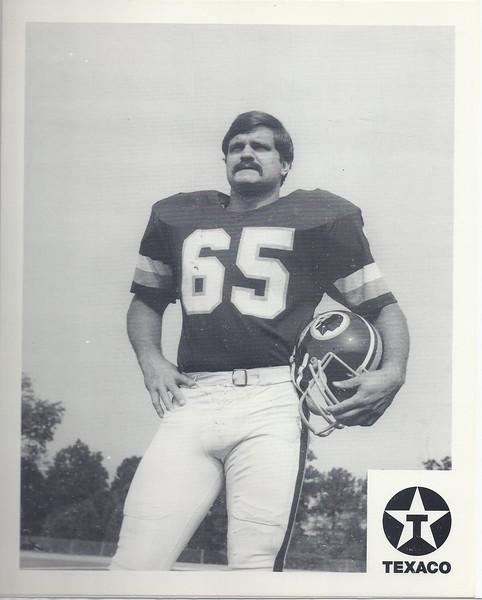 1981 Texaco premium Dave Butz