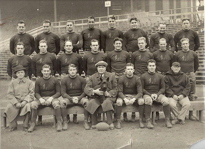 1934 Boston Redskins Team Photo