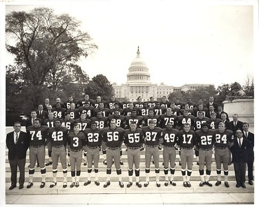 1968 Redskins Team Issue Photo