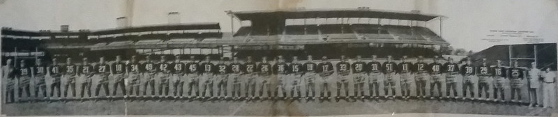 1940 Redskins Team Panorama Photo