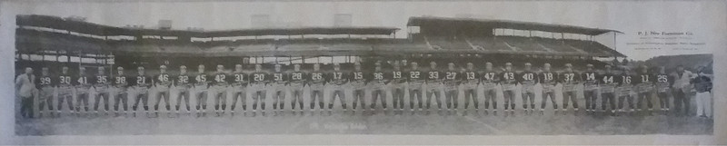 1941 Redskins Team Panorama Photo
