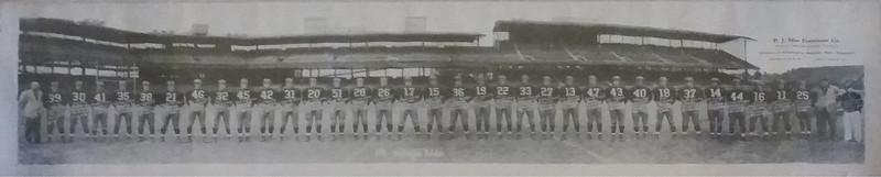 1941 Redskins Team Panorama Photo