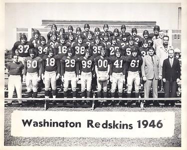 1946 Redskins Team Photo
