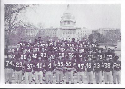 1969 Redskins Team Photo