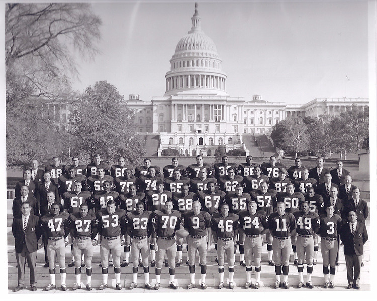 1967 Redskins Team Photo