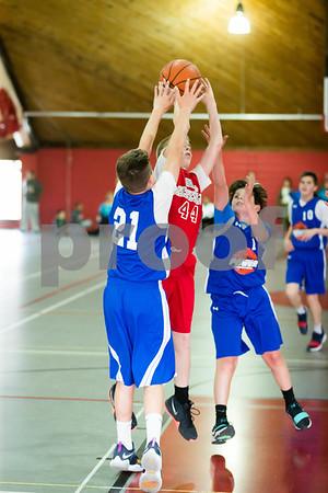 Redstorm Basketball 8th grade 4-8-18