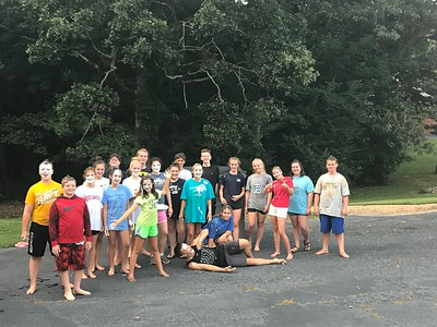 Redwine UMC Youth Messy Games - 8/27/17