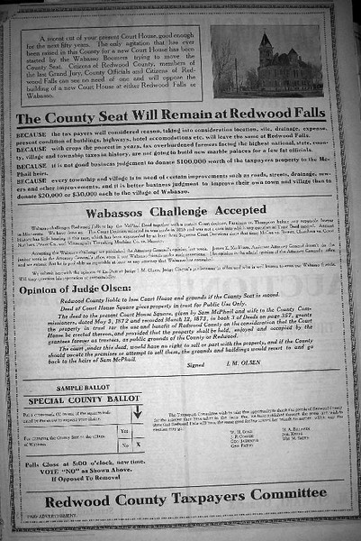 county seat fight 1919--16