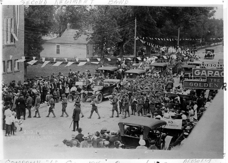 dedication of armory 1914