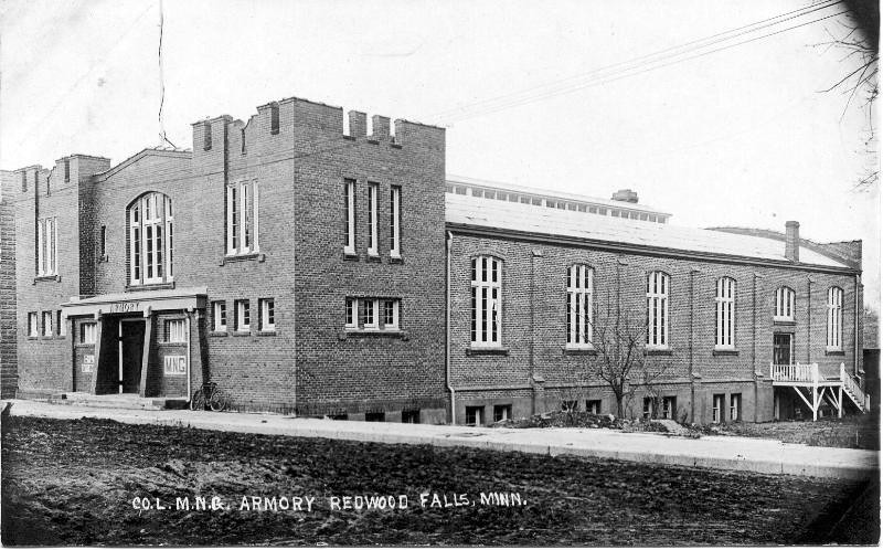 Armory from East 1914