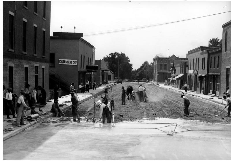 paving 3rd st 1921