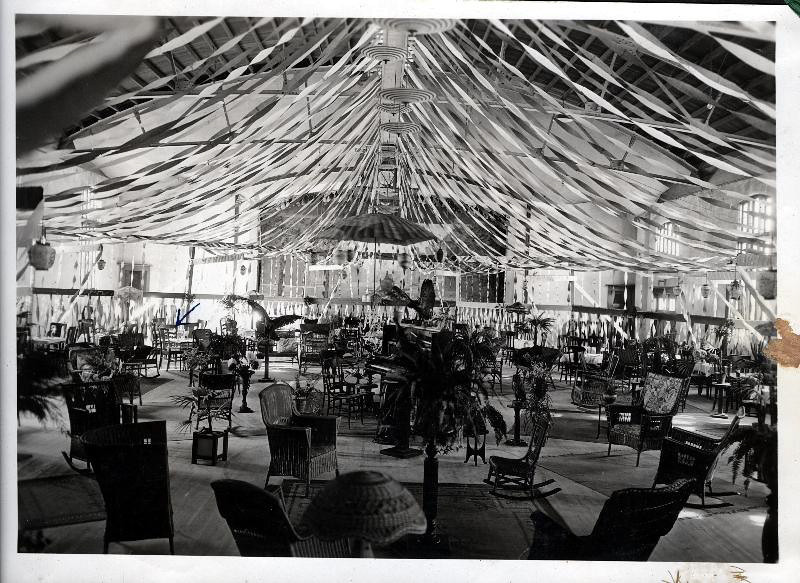 Armory Interior 1921 Redwood Falls High School Prom