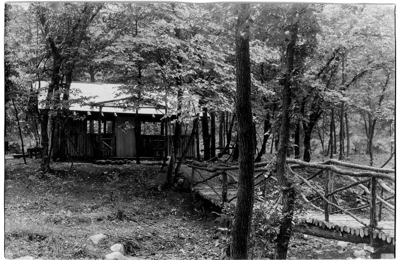 Girl Scout Bridge and Cabin