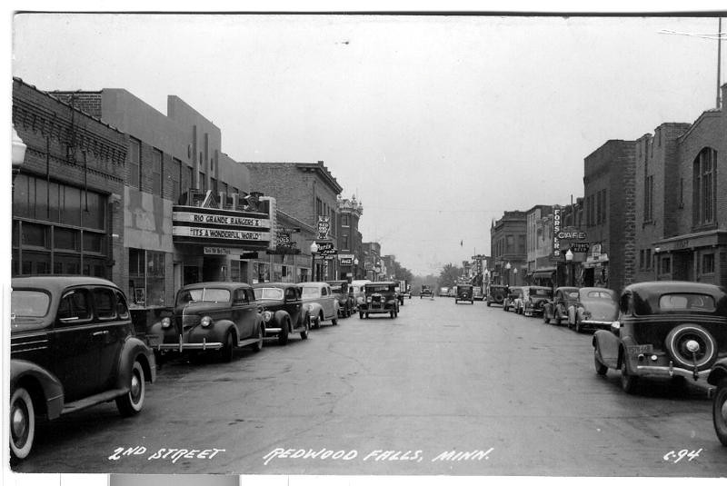 2nd st 40s theater