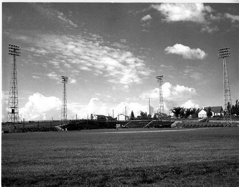 Memorial Baseball Diamond in the 50s