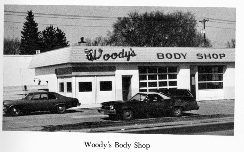 Woodys Body Shop 1976