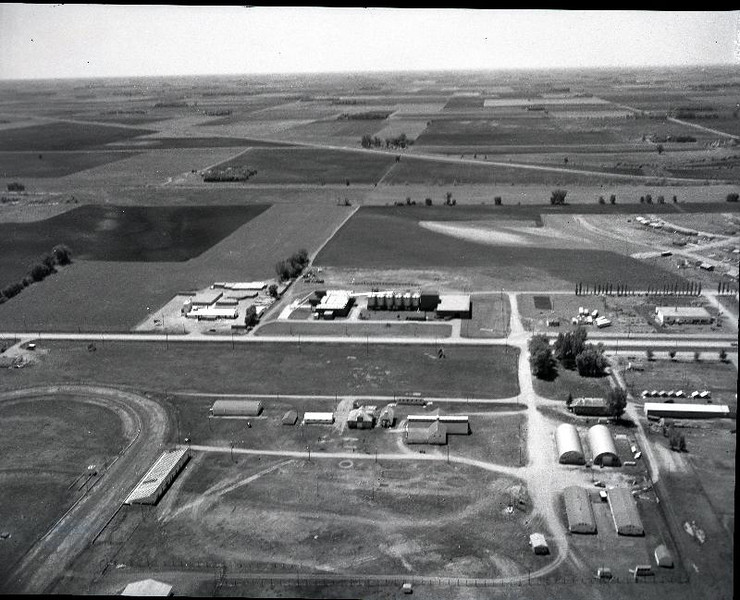 Aerial Rdwd Co fairgrounds 1972